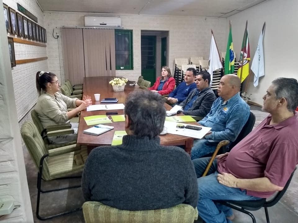 Reunião de Prestação de Contas da Casa do Alegrete