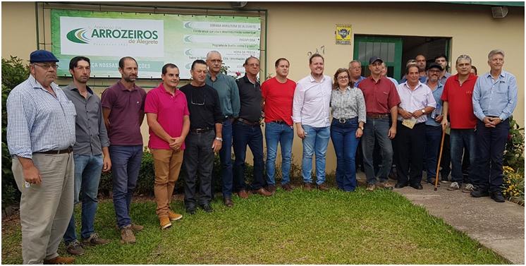Reunião com o Secretário de Agricultura do RS Covatti Filho