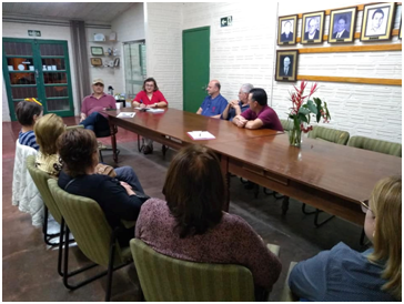 Reunião de Diretoria da AAA