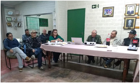 Reunião de Diretoria da Associação dos Arrozeiros de Alegrete