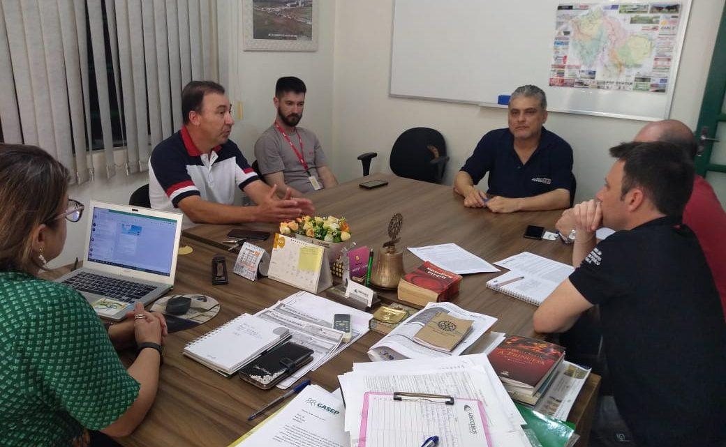 Arrozeiros de Alegrete e RGE Sul se reúnem buscando a melhoria urgente do fornecimento de energia