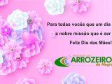 Veja a mensagem da presidente dos arrozeiros de Alegrete em homenagem ao Dia da Mães!