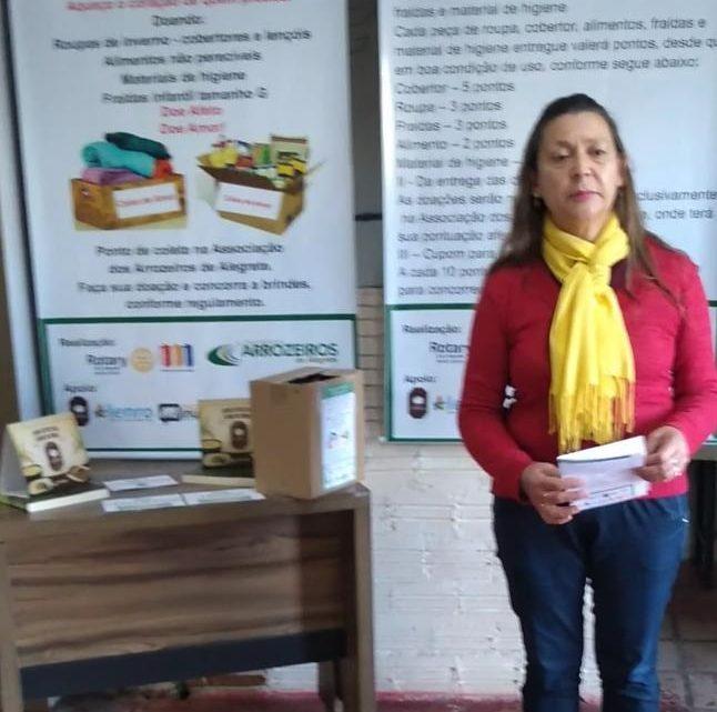 Rotary Club Alegrete Norte Centro realiza 4º sorteio da Campanha do Agasalho e do Alimento