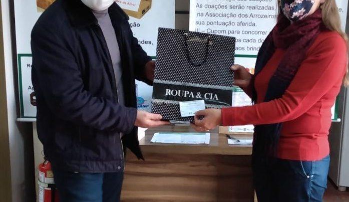 Rotary Club Alegrete Norte Centro realiza 6º sorteio da Campanha do Agasalho e do Alimento